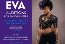 Auditions to hold for Popular Rapper-Eva's band
