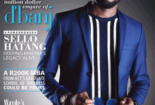 D'banj stylishly covers South African magazine-Destiny Man