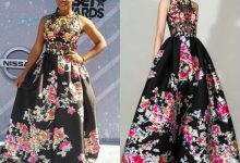 Yemi Alade Wears 2.5 Million Naira Zuhair Murad Dress To The 2016 BET Awards
