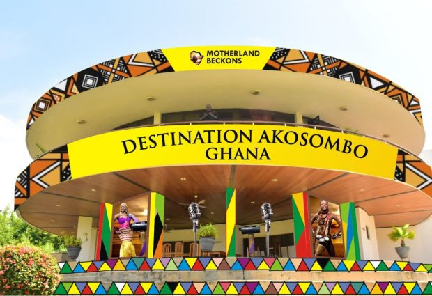 "All routes lead to ""DESTINATION AKOSOMBO GHANA (DAG)"" on October 21st, 2016"