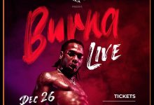 Burna Boy announces date for his headline Lagos concert
