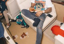 Davido delivers epic performance despite heavy rain during concert in Liberia