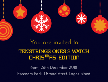 TENSTRINGS MUSIC        #ONES2WATCH.  Christmas Edition                    Live at  Freedom Park