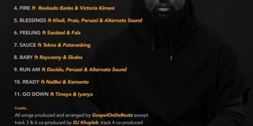 "Reekado Banks X Victoria Kimani X GospelOnDeBeatz – ""Fire"""