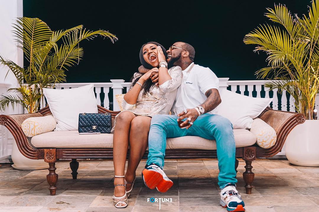 HOT!!! DAVIDO ENGAGES CHIOMA