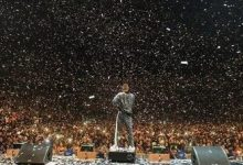 Wizkid rocks N2.3m jacket for O2 concert (photos,videos)